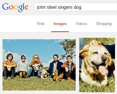 john steel singers dog